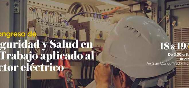 Junín: organizan congreso de seguridad en el trabajo aplicado al sector eléctrico