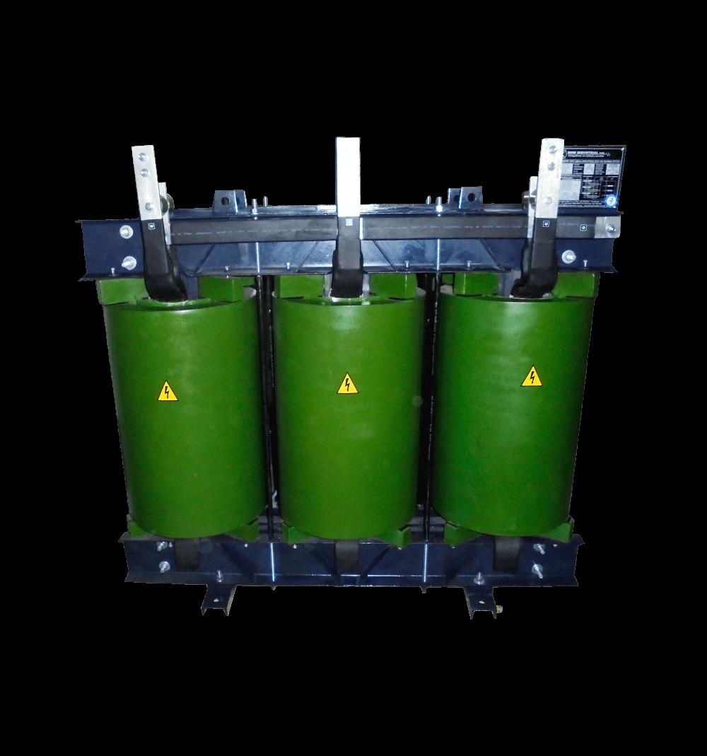 Transformador seco encapsulado  en resina epoxica